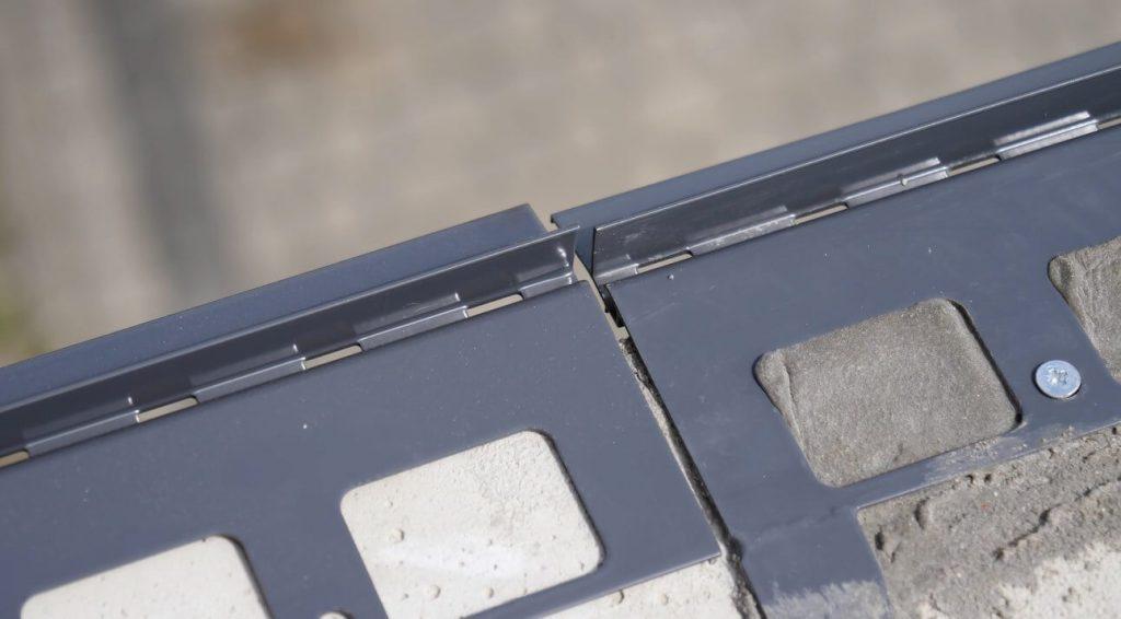 2 mm przerwa dylatacyjna